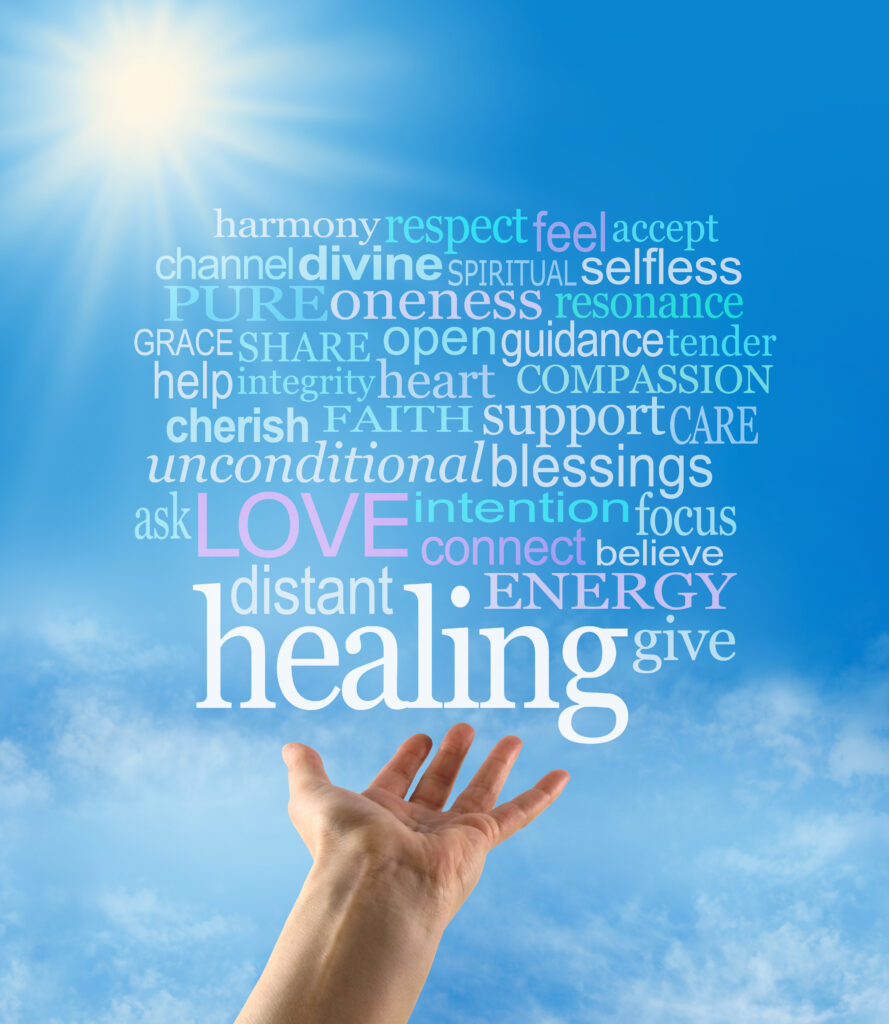 Image showing the many benefits of reiki healing